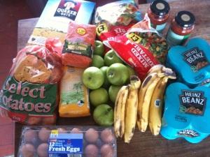 £1 per day shopping
